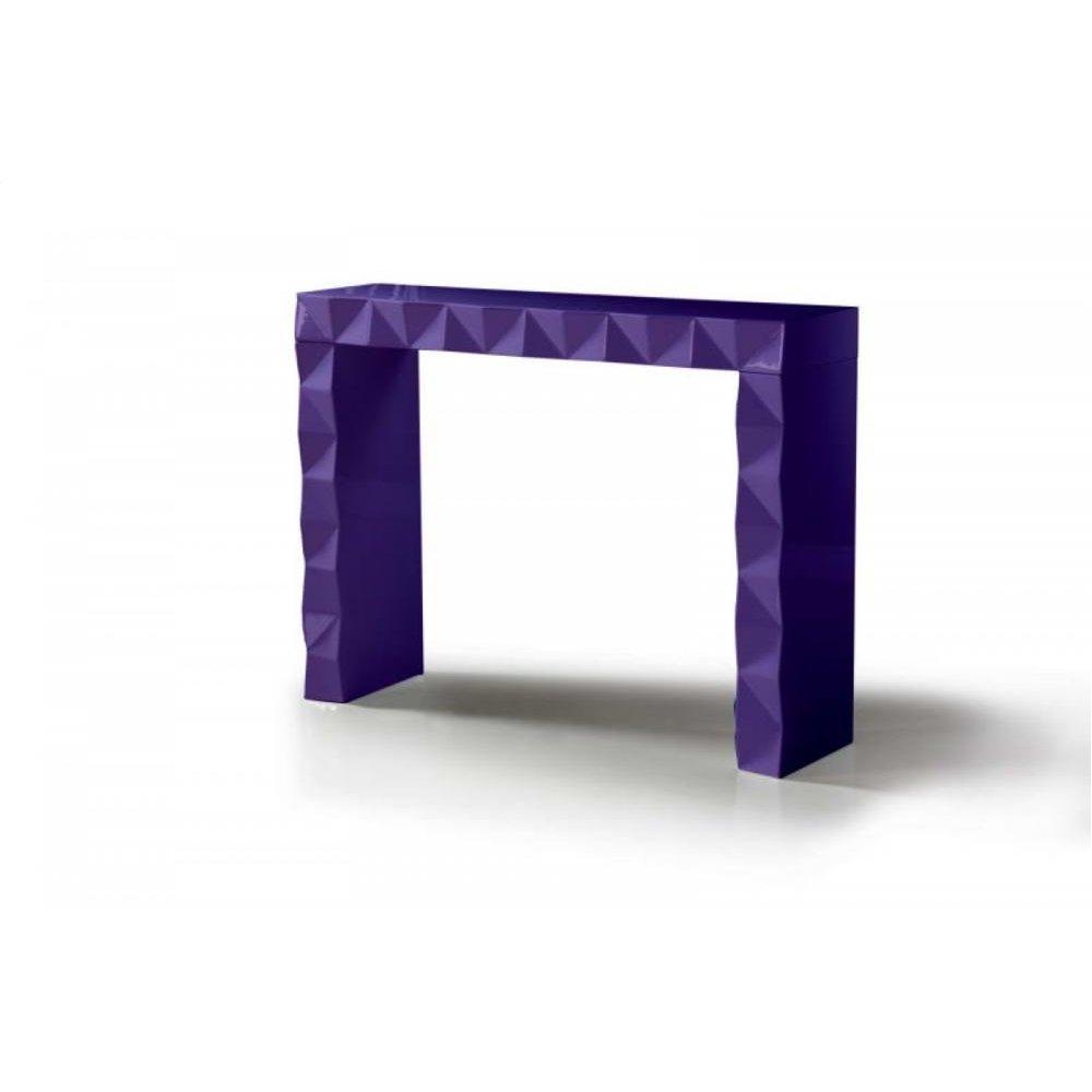 Versus Eva - Purple Console Table