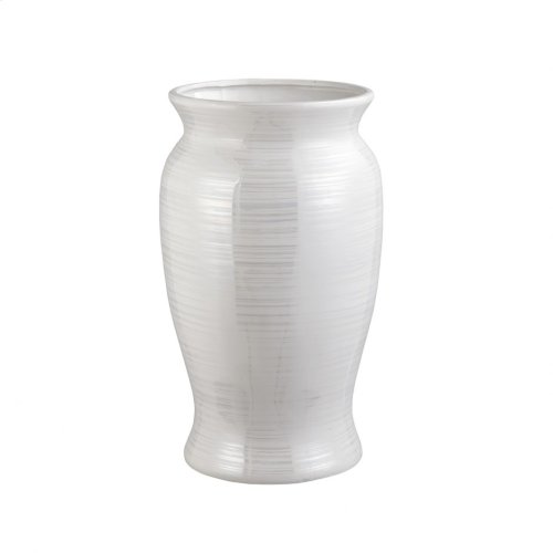 Harmony Vase Pearl White Small