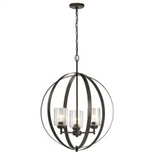 Winslow 3 Light Ord Chandelier Olde Bronze®