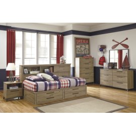 Twin/Full Storage Bed