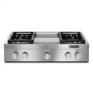"Pro-Style® 36"" Gas Rangetop with Griddle Product Image"