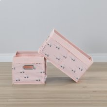 Baskets, 2-Pack - Pink Rabbit