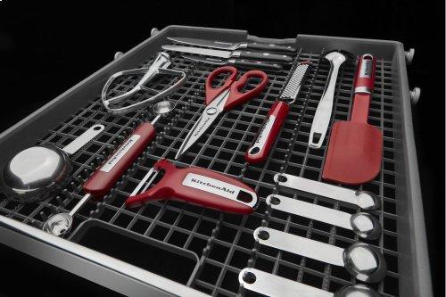 46 DBA Dishwasher with Third Level Rack and PrintShield Finish - White