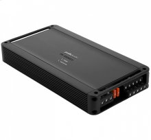 Super efficient class D bridgable 5-channel mobile audio amplifier in Black
