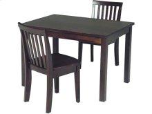 Juvenile Table in Rich Mocha