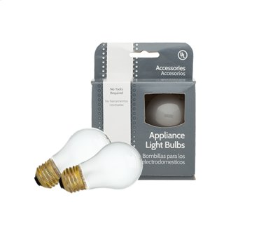 Appliance Light Bulb, 2 Pack