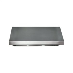 "DacorHeritage 36"" Pro Wall Hood, 12"" High, Silver Stainless Steel"