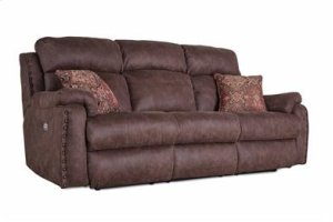 Power Headrest Loveseat with 2 Pillows