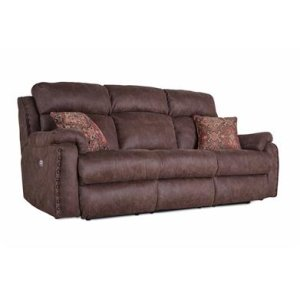 Power Headrest Sofa with 2 Pillows