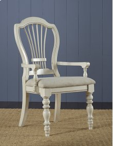 Pine Island Wheat Back Arm Chair - Set of 2