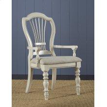 Pine Island Wheat Back Arm Chair - Set of 2