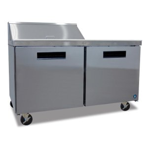 HoshizakiRefrigerator, Two Section Sandwich Top Prep Table