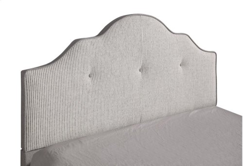 Emerald Home Anchor Bay Upholstered Bed Cream B134-13hbfbr-09