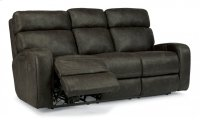 Tomkins Fabric Power Reclining Sofa with Power Headrests Product Image