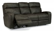 Tomkins Fabric Power Reclining Sofa with Power Headrests