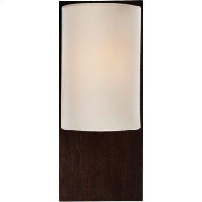 Visual Comfort BBL2012DW-L Barbara Barry Plank 1 Light 7 inch Dark Walnut Decorative Wall Light