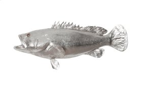 Estuary Cod Fish Silver Leaf