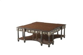 Turquoise Encounter Cocktail Table - Mother of Pearl