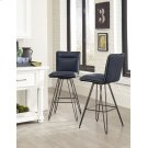 Demi Bar Height Stool with Cobalt Finish Product Image