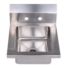 Noah's Collection Utility Series small, single bowl, drop-in hand sink.