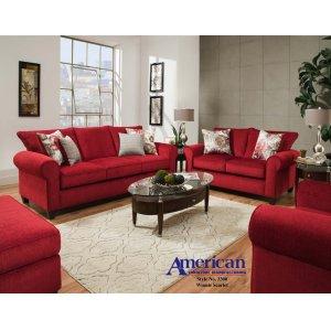 American Furniture Manufacturing3300 - Winnie Scarlet Sofa