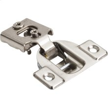 """Economical 1/2"""" Overlay Self-close Cam Adjustable Face Frame Compact Hinge without Dowels"""