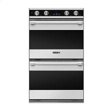 "30"" Double Oven, Chrome **FLOOR MODEL CLEARANCE**"