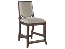 Beauvoir Counter Stool - Bianc - Marrone