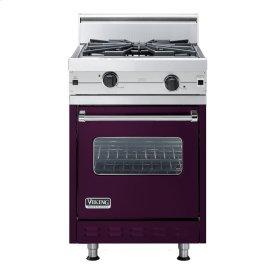 "Plum 24"" Wok/Cooker Companion Range - VGIC (24"" wide range with wok/cooker, single oven)"