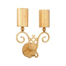 Gold Deco Sconce