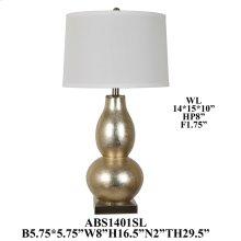"29.5"" TABLE LAMP. 2 PCS PK/ 3.56'"