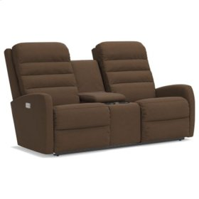 Forum PowerReclineXRw™ Full Reclining Loveseat w/ Console