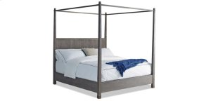 Palmer Canopy Driftwood Eastern King Bed