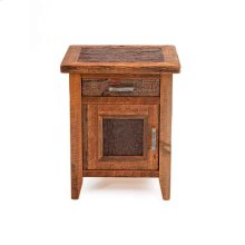 Sherwood 1 Door 1 Drawer 1 Nightstand Hinged Left