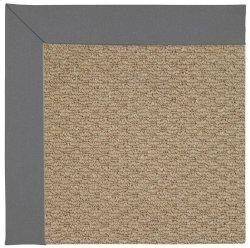 Creative Concepts-Raffia Canvas Charcoal Machine Tufted Rugs