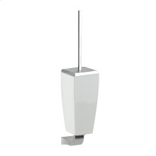 SPECIAL ORDER Wall-mounted toilet brush holder in ceramic