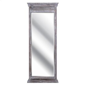 Lexy Wood Framed Rectangular Leaning Mirror