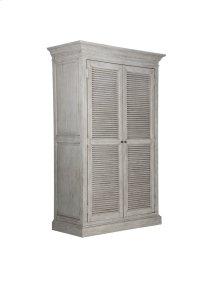 Emerald Home B506-15 Havenwood Wardrobe Armoire, Gray