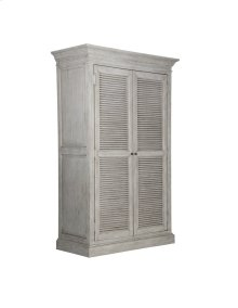 Emerald Home B506-15 Havenwood Wardrobe Armoire, Gray