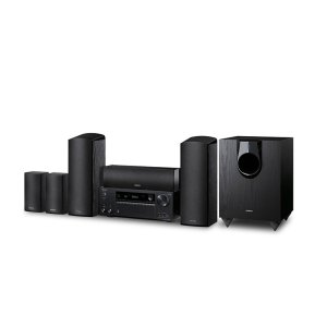 ONKYO5.1.2-Channel Dolby Atmos/DTS:X Network A/V Receiver & Speaker Package
