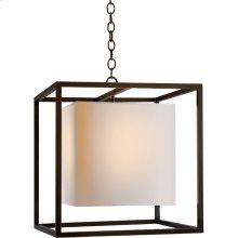 Visual Comfort SC5160BZ Eric Cohler Caged 2 Light 22 inch Bronze Foyer Pendant Ceiling Light