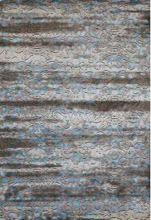Weathered Treasures Victorian Aqua Rugs