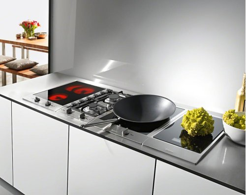 CS 1122 E 240V CombiSets with two electric cooking zones