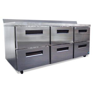 HoshizakiRefrigerator, Three Section Worktop with Drawers