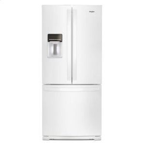 30-inch Wide French Door Refrigerator - 20 cu. ft. - WHITE