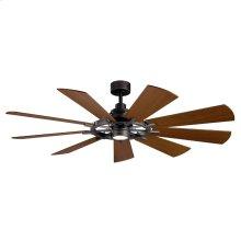 """Gentry LED 65"""" Fan Anvil Iron"""
