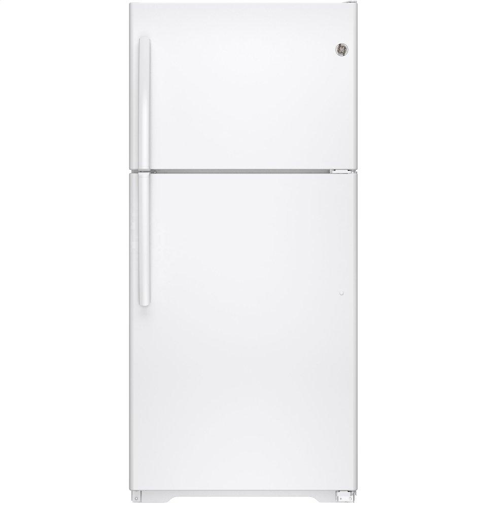 GEEnergy Star® 18.2 Cu. Ft. Top-Freezer Refrigerator