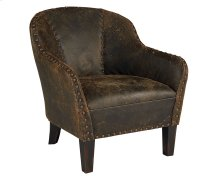 Distressed Walnut Preserve Accent Chair