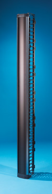 """MM6 Vertical Cable Management Cage with door, 6"""" x 8"""" x 7'"""