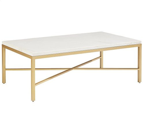 Stone/marble Luxe Coffee Table